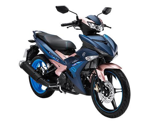 Xe Yamaha Exciter 150 Doxou 2019 _ Xanh đồng ánh Hồng + Tặng nón bảo hiểm, áo mưa, móc khóa xe