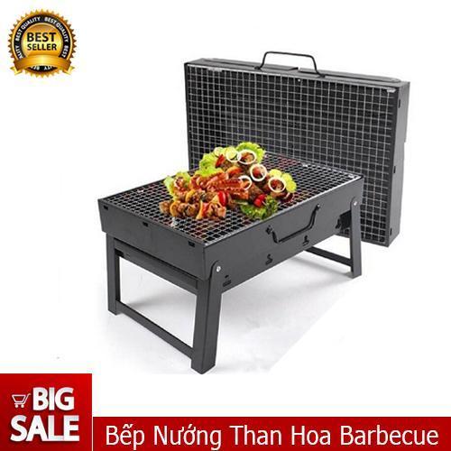 Bếp Nướng Than Hoa Vuông-BNTV274 - Qmart