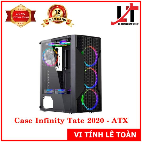 Giá Vỏ Case Infinity Tate 2020 - Chuẩn ATX, Mặt kính hông cường lực