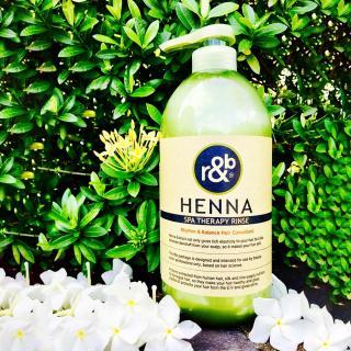 Dầu xả thảo dược R&B Henna Spa Therapy Rinse 1000ml thumbnail