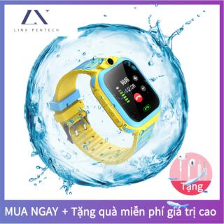 Đồng hồ điện thoại-đồng hồ thông minh dành cho trẻ em với chức năng thẻ SIM, định vị chính xác kép của trò chuyện thoại, đồng hồ IOS Android chống nước sâu với màn hình cảm ứng và camera đầy đủ thumbnail
