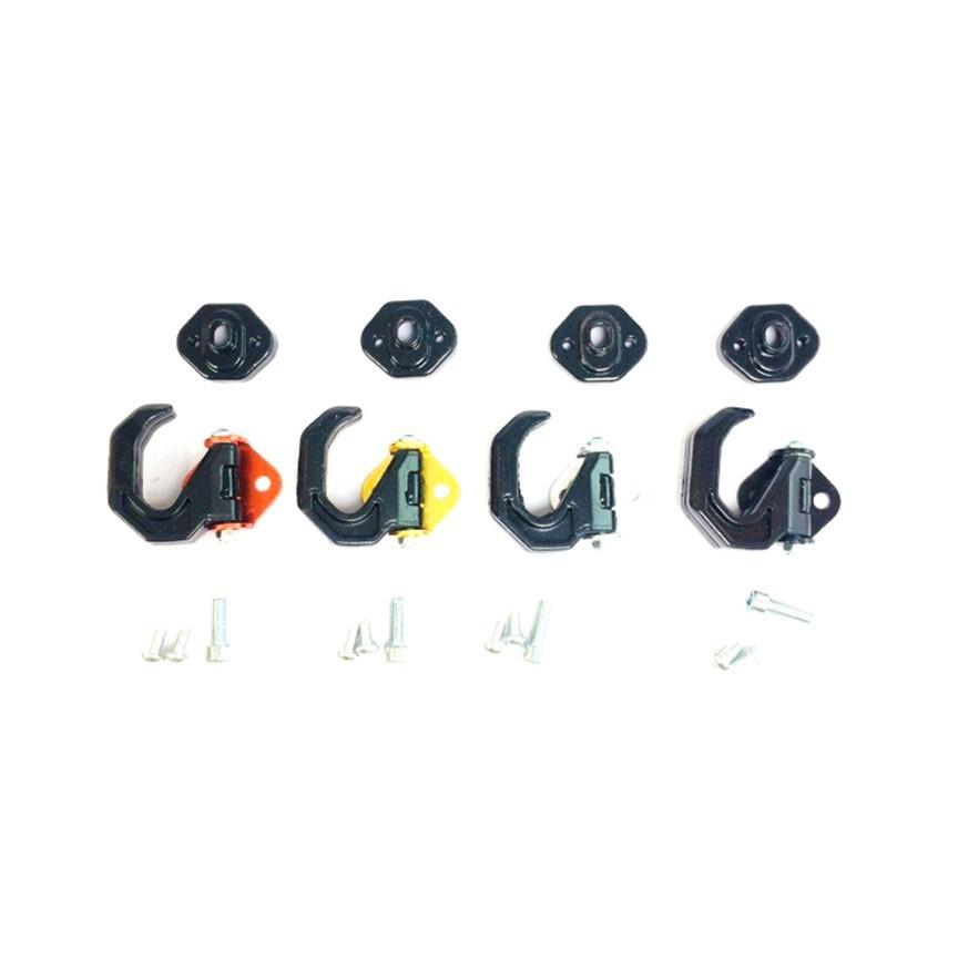Móc treo đồ xoay 180 dành cho xe máy Greennetworks - cam, chất liệu kim loại kết hợp nhựa cao cấp với thiết kế đặc biệt cứng cáp và dễ dàng lắp đặt