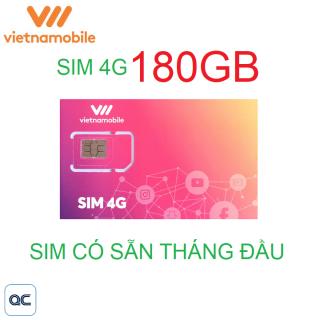 Sim 4G vietnamobile mỗi ngày 6GB sử dụng toàn quốc thumbnail