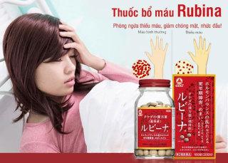 Viên uống bổ máu Rubina Nhật Bản thumbnail