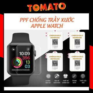 Dán PPF Apple Watch chống trầy chống va đập tự hồi phục 38mm 40mm 42mm 44mm thumbnail