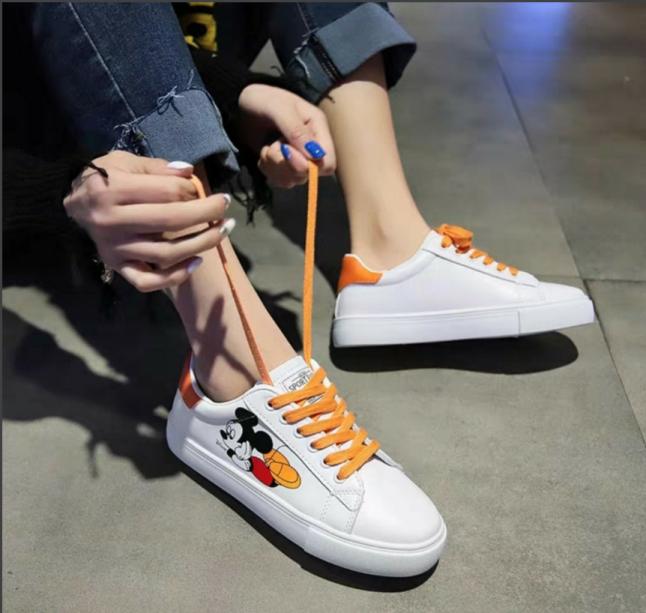Giày thể thao nữ hình chuột MICKEY siêu dễ thương siêu đáng yêu giá rẻ