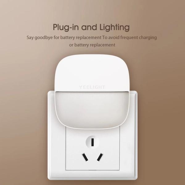 [FREESHIP MAX] [CHÍNH HÃNG] Đèn ngủ plug-in Yeelight Xiaomi YLYD09YL đèn ngủ cảm biến ánh sáng - Mistore Việt Nam