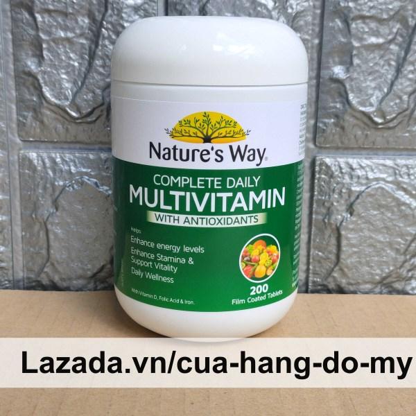 Viên uống Vitamin Tổng Hợp Nature's Way Complete Daily Multivitamin 200 Viên