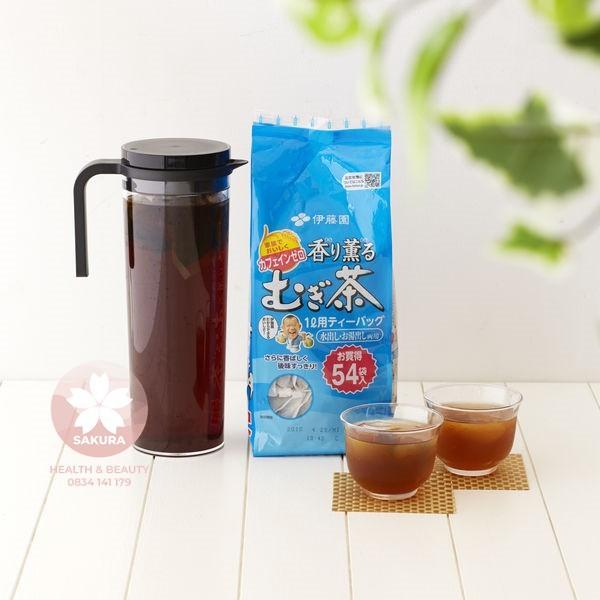 Trà Gạo Lứt (Trà Mugi ) 54 Túi Lọc Nhật Bản
