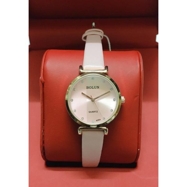 Nơi bán Chỉ 61k Duy Nhất Hôm Nay - Đồng hồ nữ thời trang GC dây da mặt vuông viền đính đá sang trọng quí phái - Tặng kèm hộp và Pin - Sams Shop