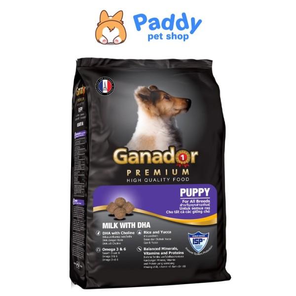 [3kg] Hạt Ganador Cho Chó Con Vị Sữa & DHA