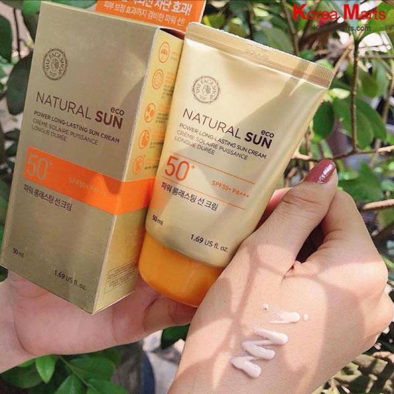 Kem chống nắng TFS Natural Long-Lasting Cream SPF50 PA+++ 50ml - KCN TFS nhập khẩu