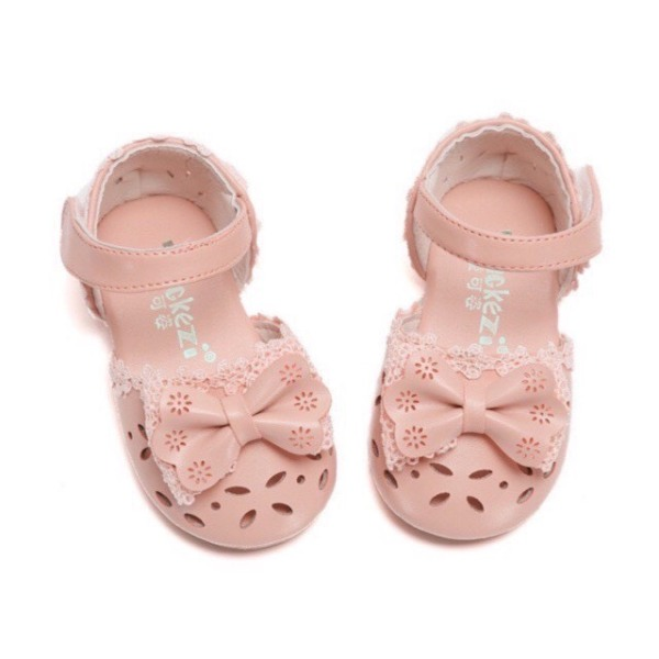 Giá bán A01# Giày búp bê đính nơ xinh xắn cho bé loại 1
