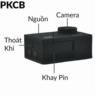 Camera 4K Ultra HD hành trình xe máy Camera phượt thể thao kết nối Wifi chống nước chống rung có remote Aurum 16 5