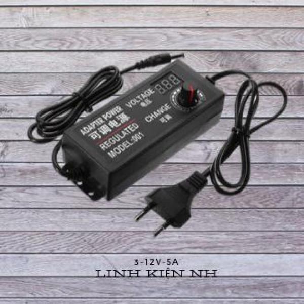 Bảng giá Adapter nguồn chỉnh đa năng 3V ~ 12V 5A Phong Vũ