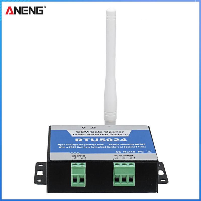 RTU5024 Dụng Cụ Mở Cổng GSM Công Tắc Rơ Le Dụng Cụ Mở Cửa Điều Khiển Từ Xa Phích Cắm Chuẩn Mỹ Châu Âu