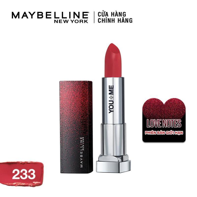 Son lì mịn môi Maybelline Color Sensational phiên bản giới hạn Love Notes 3.9g