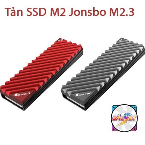 (CÓ SẴN) Tản nhiệt ổ cứng SSD M2 2280 Jonsbo M2.3 - Tản nhiệt SSD Jonsbo M.2-3 Radiator