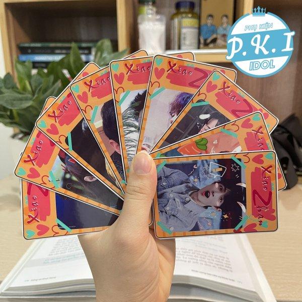 Bộ Card Cứng In Hình Tiêu Chiến Bo Góc