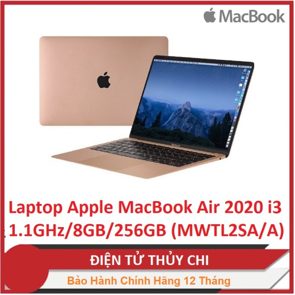 Bảng giá Laptop Apple MacBook Air 2020 i3 1.1GHz/8GB/256GB (MWTL2SA/A) Phong Vũ