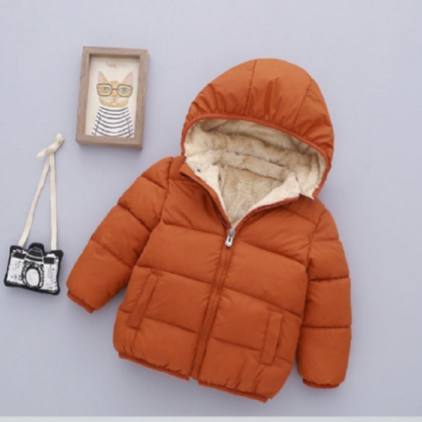 Áo khoác lông cho bé Nhật Bản