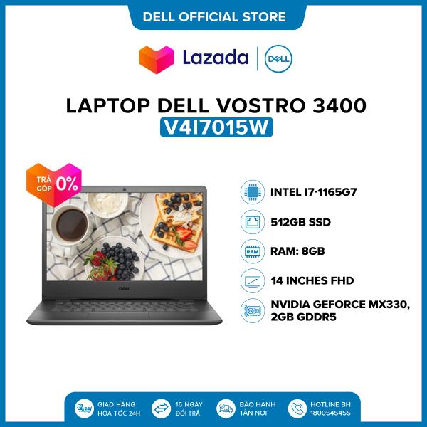 Bảng giá Laptop Dell Vostro 3400 14 inches FHD (Intel / i7-1165G7 / 8GB / 512GB SSD / NVIDIA GeForce MX330, 2GB DDR5 / Win 10 Home SL) l Black l V4I7015W Phong Vũ