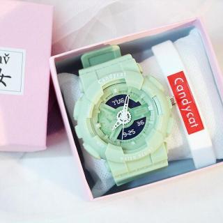 Đồng hồ thời trang nam nữ Candycat chạy kim giả điện tử mẫu mới MS655 thumbnail