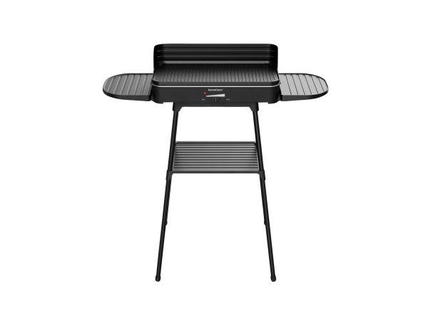 Bếp nướng điện BBQ SILVERCREST® , 2200 W, kèm khay, chắn gió và chân đế cao