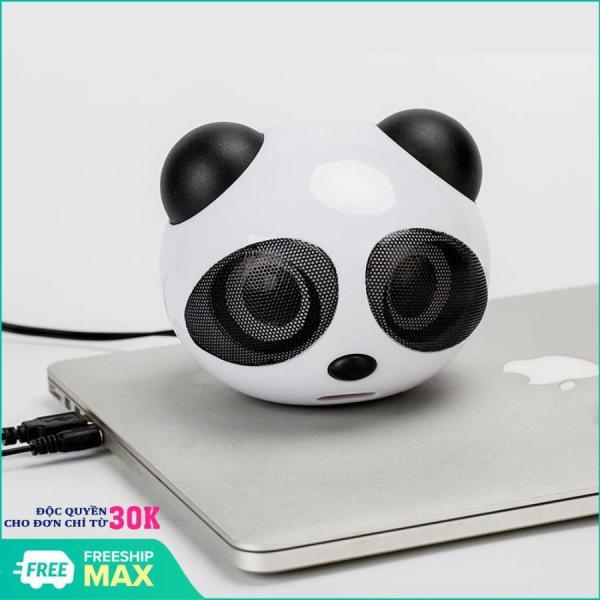 Bảng giá Loa nghe nhạc xem phim dùng cho máy máy tính và điên thoại kết nối jack 3.5 gấu trúc Panda YS-226, Loa mini kiêm đèn ngủ cao cấp hình thú ( Gấu trúc ) siêu Cute - nghe nhạc cực hay Phong Vũ