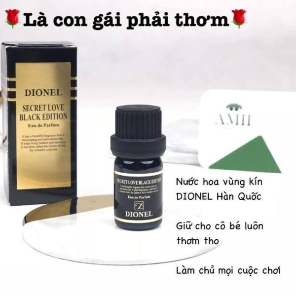 [HƯƠNG THƠM QUYẾN RŨ] - [chính hãng] Nước hoa vùng kín Dionel Secret Love Black Edition Eau De Parfum Premium Natural Oil . Đem lại hương thơm dịu nhẹ, quyến rũ cho vùng kín & giúp làm sạch và loại bỏ mùi gây khó chịu. Chính hãng