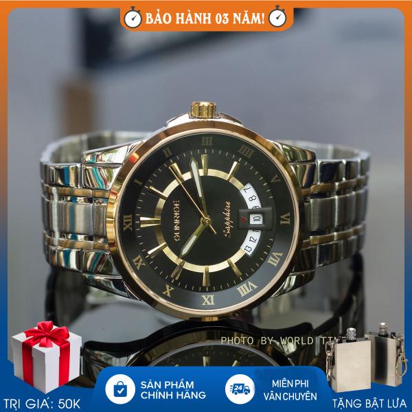 Nơi bán Đồng hồ nam Sunrise DM771SWA full box, kính sapphire chống xước, chống nước