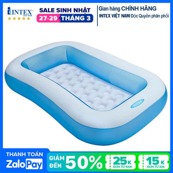 Bể bơi phao INTEX chữ nhật 57403 - Hồ bơi cho bé mini, Bể bơi phao trẻ em