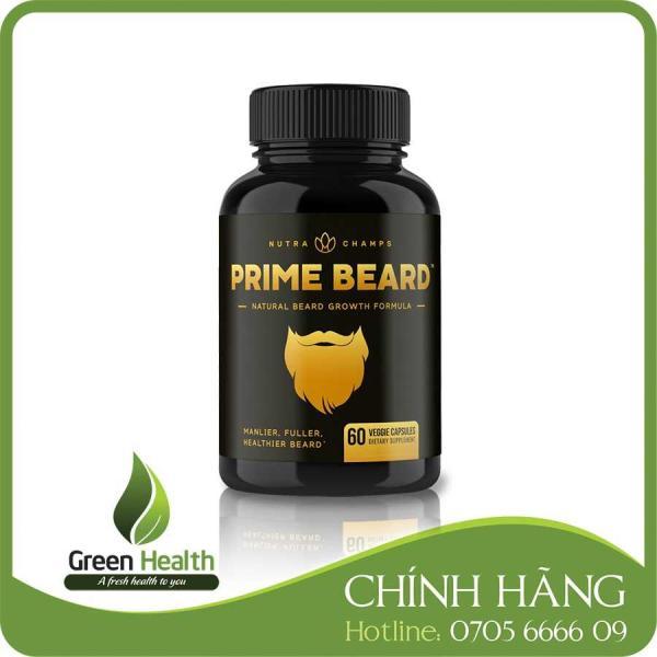 Hỗ trợ mọc râu Prime Beard giá rẻ
