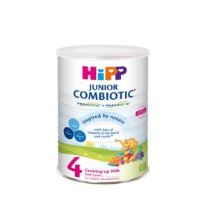 Sữa Bột Siêu Sạch Hipp 4 Junior Combiotic 800g cho trẻ từ 3 tuổi trở lên (6 lon x 800g thùng) thumbnail