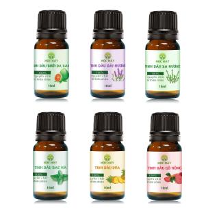 Tinh dầu thiên nhiên nguyên chất 10ml Mộc Mây - tinh dầu Organic nguyên chất từ thiên nhiên (có kiểm định bộ y tế, chất lượng và mùi hương vượt trội) thumbnail