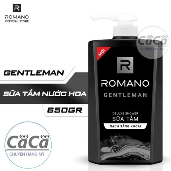 Sữa Tắm cao cấp Romano Gentleman 650g - Hương nước hoa tốt nhất