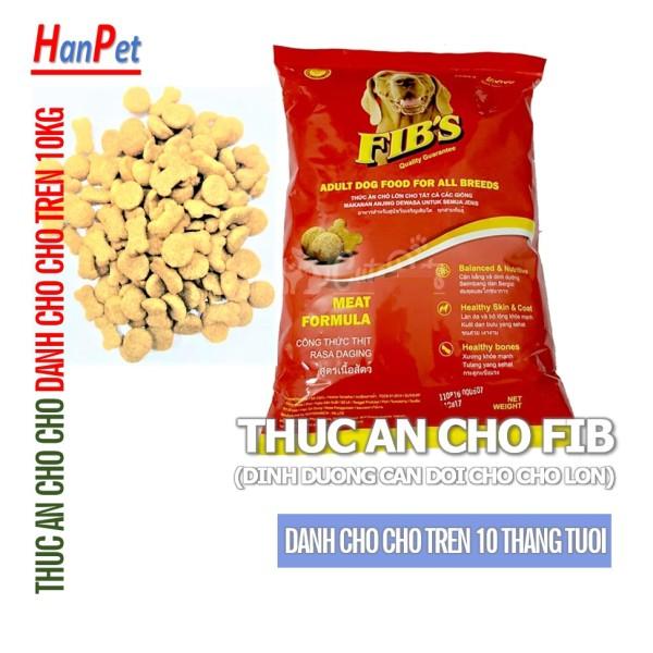 FIBS 400gr- Thức ăn cao cấp dạng hạt cho MỌI LOẠI chó (trên 10 tháng tuổi) fib của công ty ganador