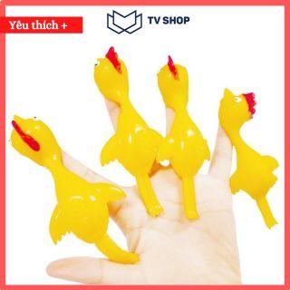COMBO 10 FREE SHIP Đồ chơi bắn gà vui nhộn cao su silicon, dính tường chất liệu an toàn không độc hại thumbnail