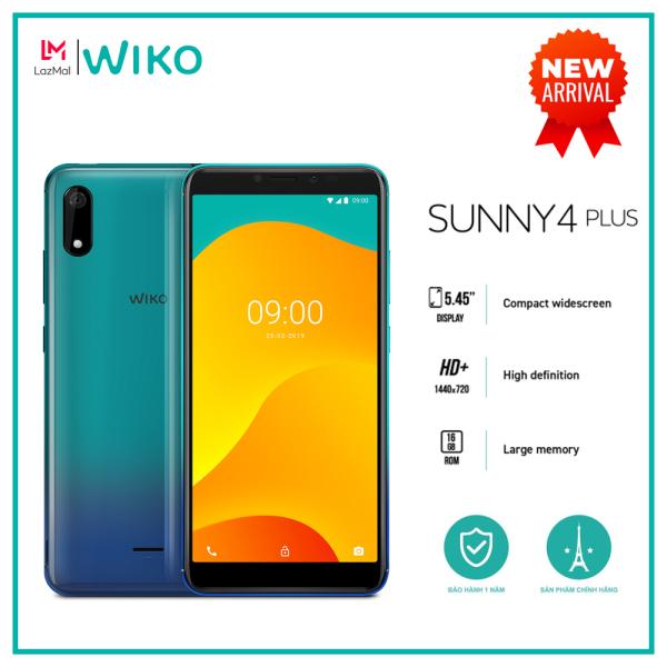 Điện thoại Wiko Sunny 4 Plus - Ram 1GB, Rom 16GB, Pin 2500mAh, Màn hình 5.45, Camera 5MP, Selfie 5MP Flash - Hàng chính hãng