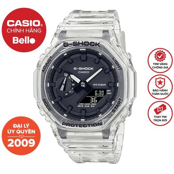 Đồng hồ Casio G-Shock Nam GA-2100SKE-7ADR bảo hành chính hãng 5 năm - Pin trọn đời