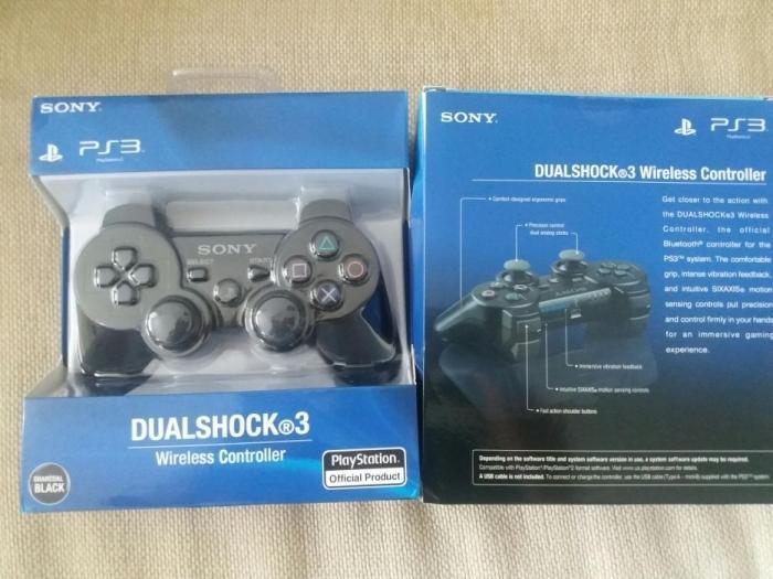 Tay Cầm Không Dây PS3 Dualshock 3 - tặng dây sạc