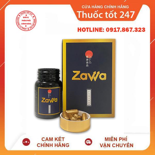 (Mẫu Mới)Zawa Platinum Tăng Cường Sinh Lý Nam - [Chính Hãng] - Hỗ Trợ & Điều Trị Xuat Tinh Sớm