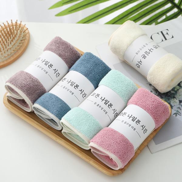 Khăn Tắm Lông Cừu Hàn Quốc 30x60cm - Khăn Mặt/ Khăn Lau Đầu Chất Bông Mềm Mịn, Thấm Nước Nhanh