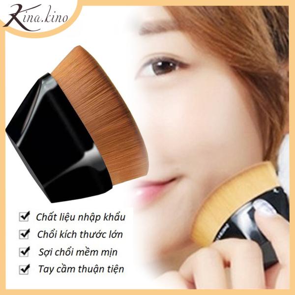 Cọ trang điểm tán kem nền Siêu mịn KinaKino- đầu lông mềm mịn dễ dàng xử dụng [ kèm hộp ]