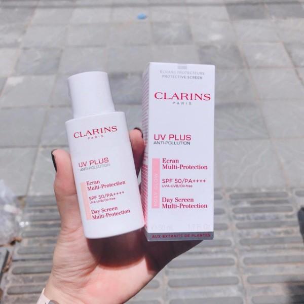 Kem chống nắng Clarins màu Rosy Glow 50ml nhập khẩu