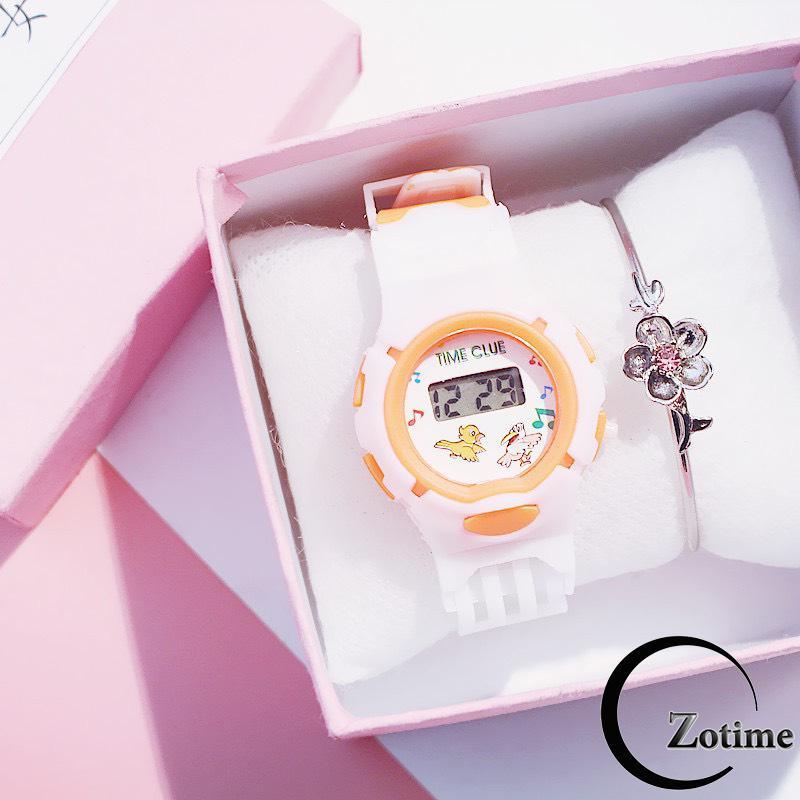 Giá bán Đồng hồ điện tử trẻ em thời trang dây cao su ZO81