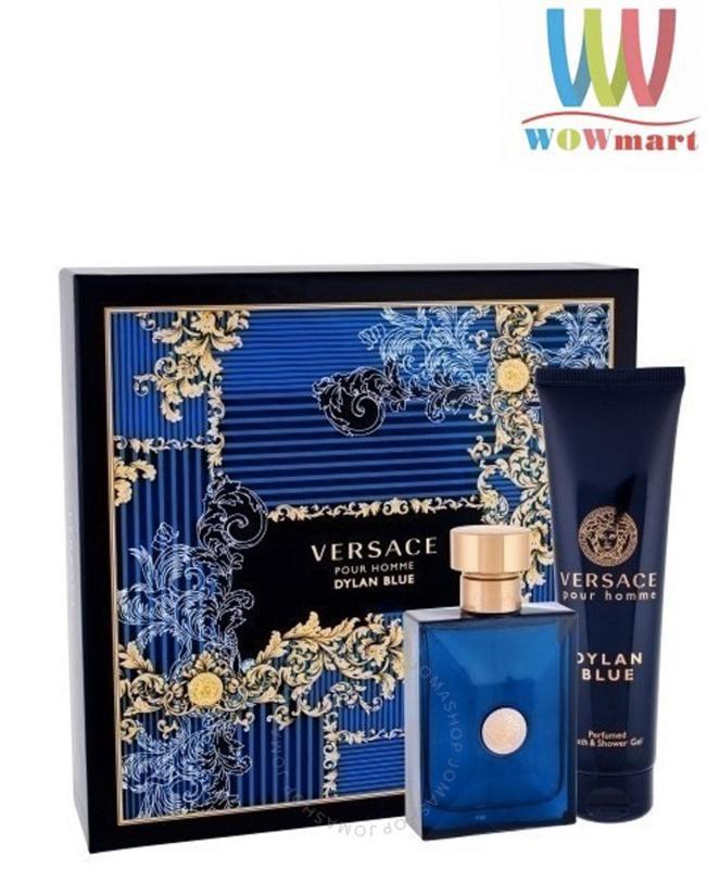 Versace Pour Homme Blue Dylan Set 2 ( nước hoa 100ml / sữa tắm 150ml ) - PHÁP