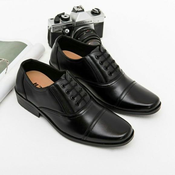 Giày Tây Da Nhám Buộc Dây Khâu Ngang Mũi Sang Trọng M574 giá rẻ