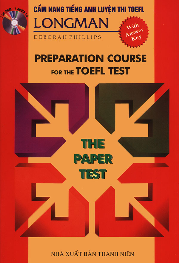 Longman Preparation for the TOEFL Test - Deborah Phillips (song ngữ - khổ nhỏ) (kèm USB)