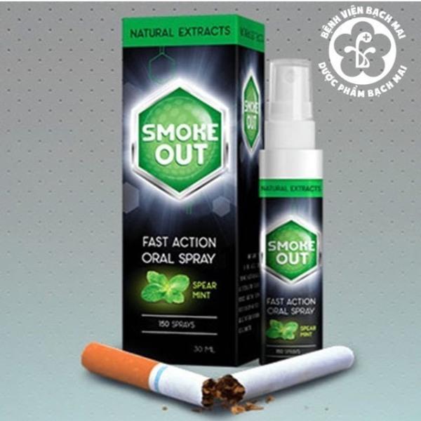 Xịt Cai Thuốc Lá Smoke Out Hàng Chuẩn Chất Lượng Nhập Khẩu Nga